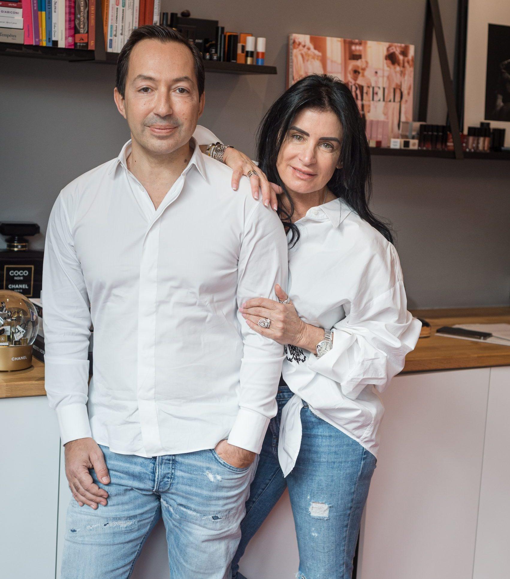 Jean-Baptiste Wautier et sa femme Claudine Annunziata Wautier